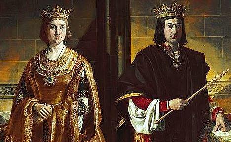 Casamiento de Isabel con Fernando