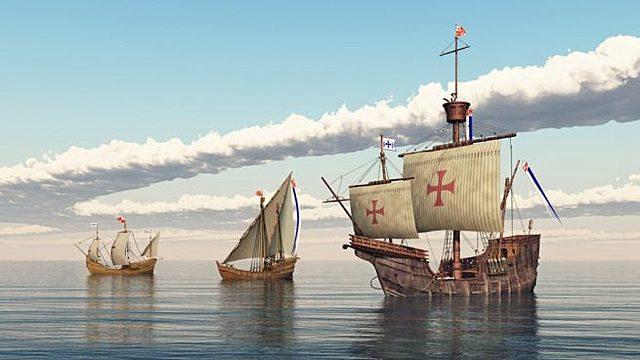 Ida de Colón hacia América