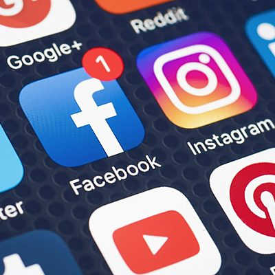 Social media door de jaren timeline