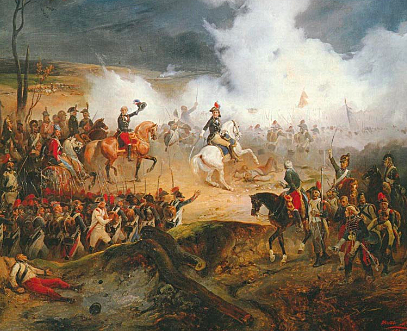 La guerra contra Austria