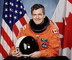 Marc Garneau en espace