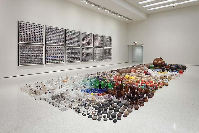 """Prof - Inventaire / Gabriel Orozco: """"Asterisms"""" (Deutsche Guggenheim Museum, Berlin, Allemagne)"""