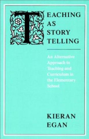 Publishes Teaching as Story Telling