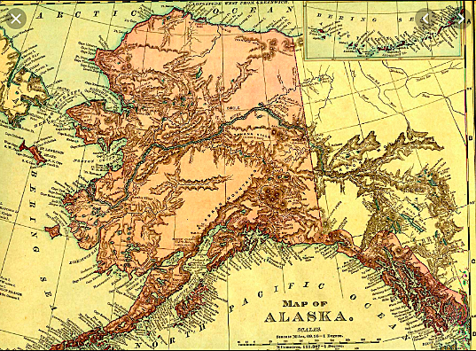 """""""The First Organic Act"""" brought civil government to AK in 1884."""