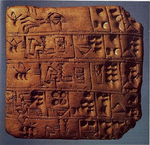 Los babilonios y su método de recopilación de datos.
