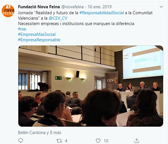 Jornada CEV. CV
