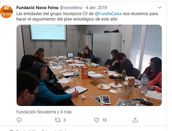 2ª Reunión Grupo Incorpora Valencia.