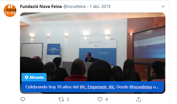 Celebramos el 10º Aniversario del Centro de Emprendedores de Alicante.