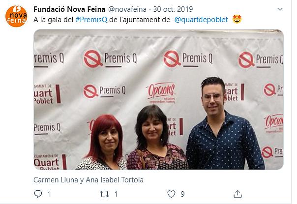 Entrega Premis Q Ajuntament de Quart de Poblet.