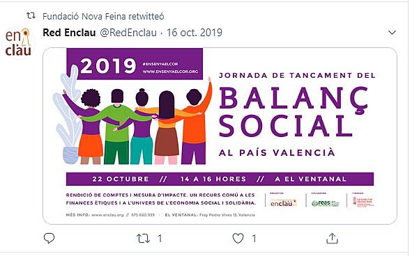 Jornada Balanç Social Red Enclau