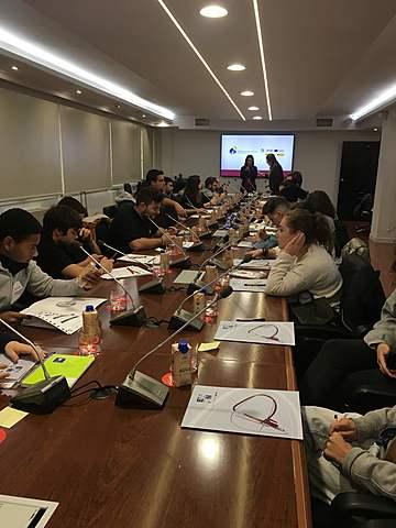 I Encuentro nacional de Jóvenes .Programa Erasmus Plus . EAPN