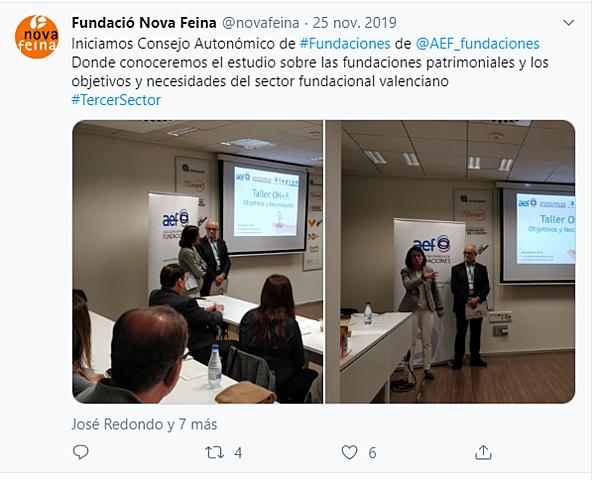 Consejo Autonómico de Fundaciones AEF