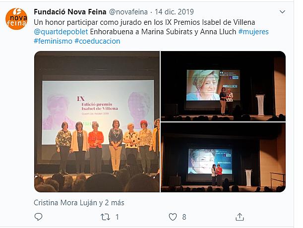 IX Premios Isabel de Villena