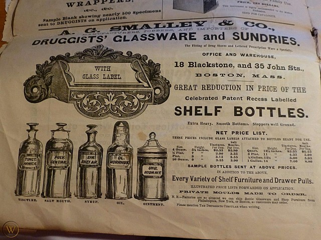 Apothecaries move into wholesale production