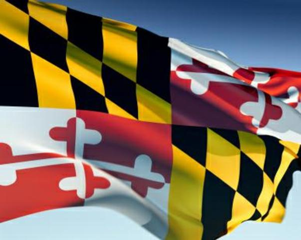 The year I moved to Maryland!!
