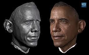 First 3-D American President Portrait Photograph!