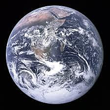 First Photo of a Fully Lit Earth!