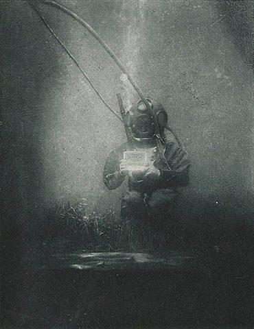 First Underwater Portrait!