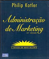 """Kotler publica """"Administración de marketing""""."""