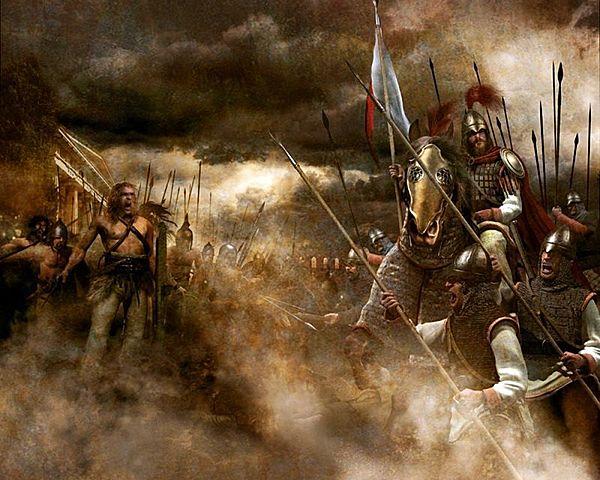 Atac viking al monestir de Lindisfarne