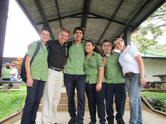 Extranjeros en el Colegio