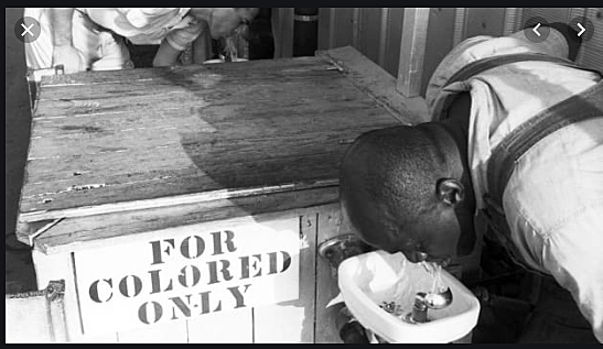 Segregation of public facilities for different races was institutionalized in the United States in the 1880s, confirmed by the Supreme Court in 1896.