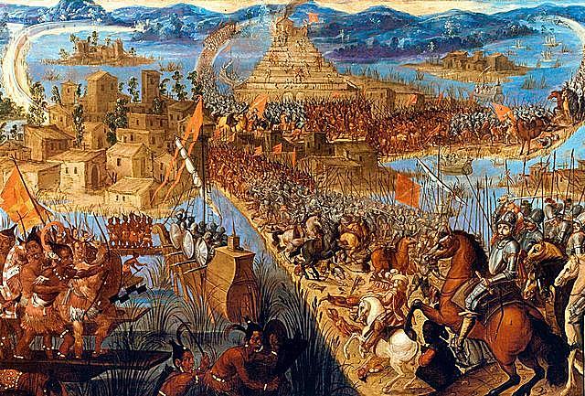 Conquest of the Aztecs.