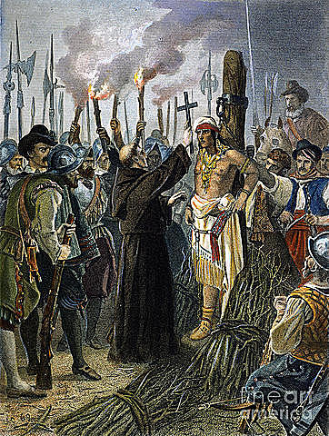 The Execution on Atahualpa.