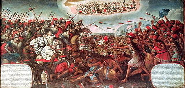 The Fall of Inca Empire.