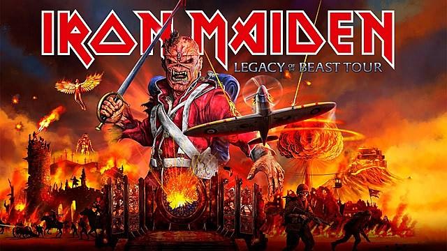 Iron Maiden en vivo
