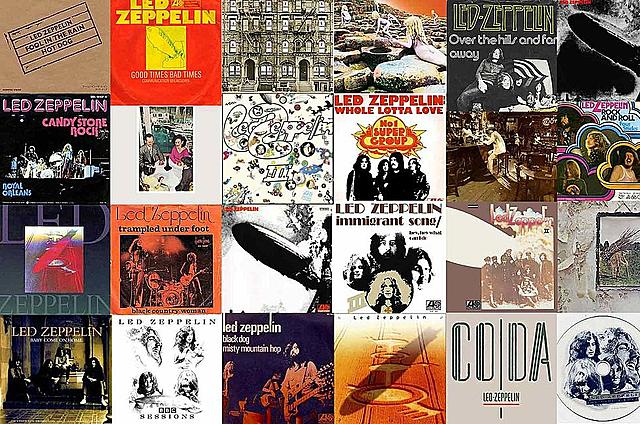 Discografia Led Zeppelin
