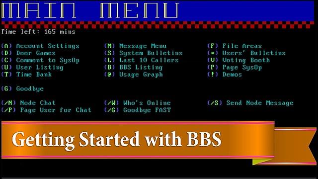 BBS - Bulletin Board Systems