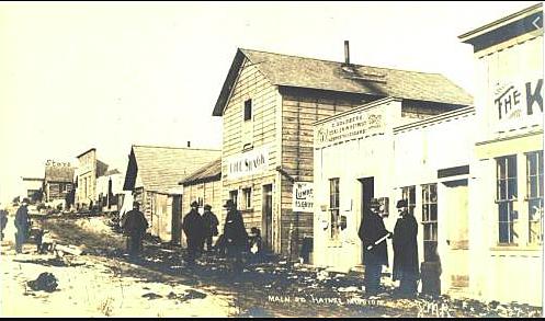 Sarah Dickinson, an Alaskan Native teacher, was teaching in Haines in 1886