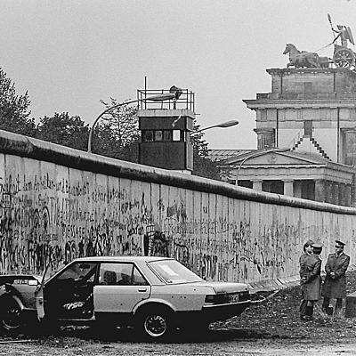 Berlinmauer timeline