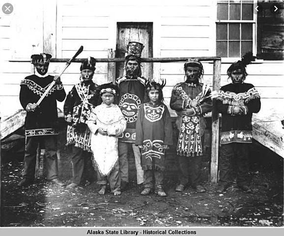 In 1882 Tillie Kinnon, an Alaskan native teacher, and her husband opened a school in Klukwan.