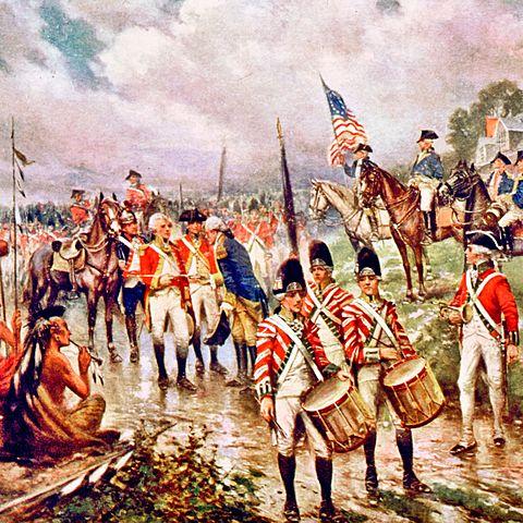 America and British Battle of Saratoga