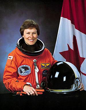 Roberta Bondar en espace