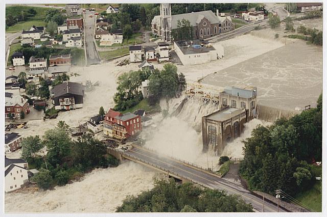 Inondation de Chicoutimi