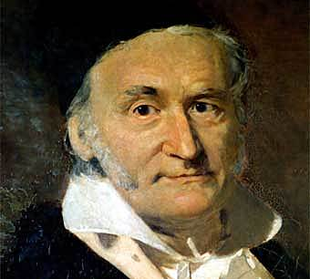 Johann Karl Friedrich Gauss (1777-1855)