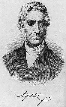 Jacques Quetelet (1796-1874)