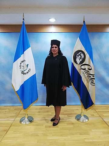 Graduación de mi Mamá