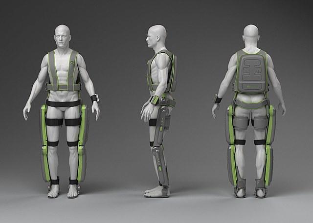 L'exosquelette motorisé Rex