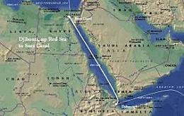 Obertura del canal de Suez