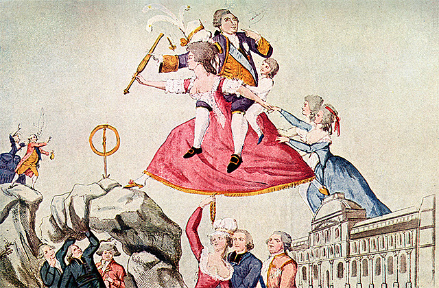 Return of Louis XVI after he tried to flee
