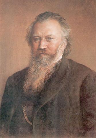 Amistad amb Johannes Bahms.