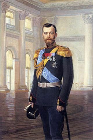 Tsar Nicholas II Abdicates the Throne