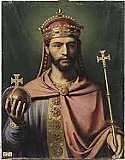 Comença el regnat de Lluís el Piadós
