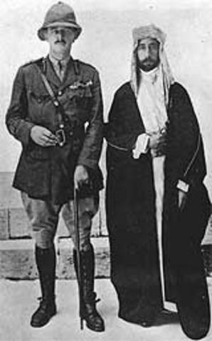 Arab Revolt Begins