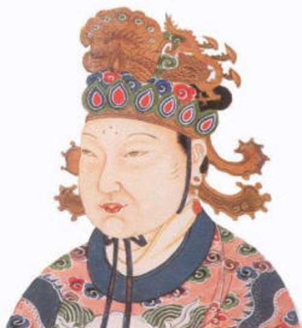 Tang Dynasty, Wu Zhao: The woman ruler