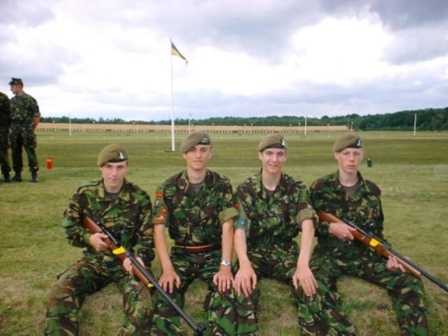 In 1993 Camp Ipperwash was still being used as cadet summer training centre for the Royal Canadian Army Cadets